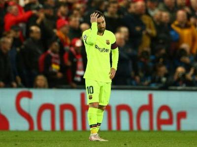Messi backs Valverde, faults players for Anfield collapse