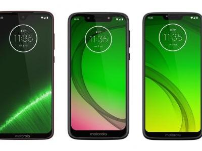 Here's The Differences Between Motorola's Four New Moto G7 Android Phones