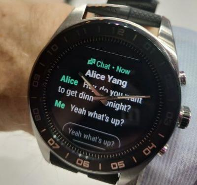 LG's Watch W7 looks like the dumbest smartwatch of the year