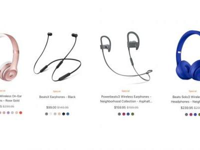 Apple discounts BeatsX, Powerbeats3, and Beats Solo3 by up to 30%