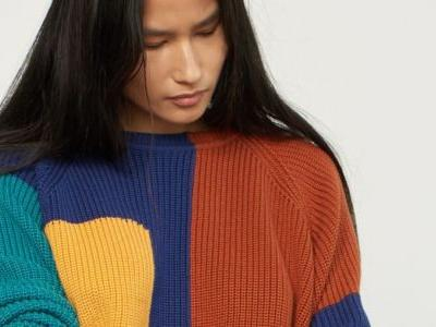 Will This Colorful Sweater Be Whitney's First Fall Purchase?
