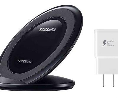 Samsung Fast Charge Wireless Charging Stand being discounted by Amazon