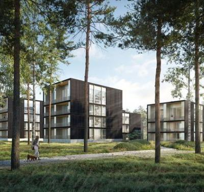 David Chipperfield and Enzo Enea Design a Luxury Lake Retreat in Germany