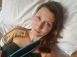 Woman has her arm bone replaced with METAL and cement after breast cancer ate away at her skeleton