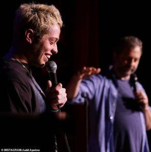 Pete Davidson tells Judd Apatow why he is America after Ariana Grande break-up