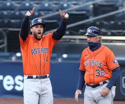 Astros hold off Rays to win third straight, force ALCS Game 7