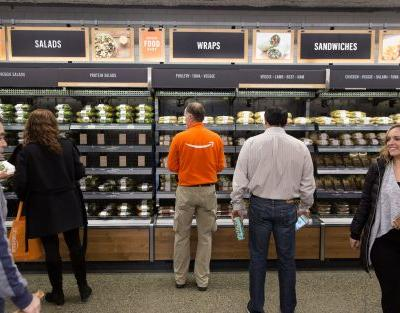 Amazon 'testing cashierless technology for bigger stores'