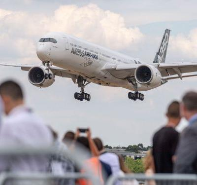 Airbus and Boeing have racked up more than $55 billion in sales this week, and it's only Tuesday