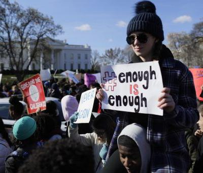 Students march in droves against gun violence