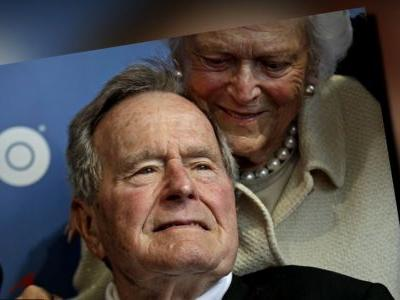 George H.W. Bush Back in Hospital For 'Low Blood Pressure and Fatigue'