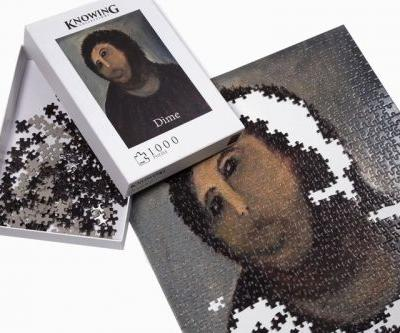 Turn Yourself into an Art Restorer With Dime's Latest 'Ecce Homo' Puzzle Set