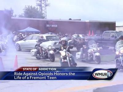 Motorcycle ride raises money in honor of teen who died of overdose
