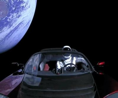 Track Elon Musk's Tesla Roadster in space with this aptly named website