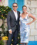 Tom Hanks and Rita Wilson Pop Up at the Mamma Mia 2 Premiere Looking Like Cool Kids