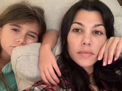 Kourtney Kardashian Shows Off Daughter Penelope's First Haircut and It's Super Chic!