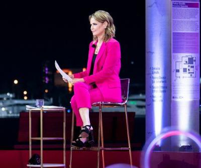 'No significance' to Savannah Guthrie's pink suit during Trump town hall