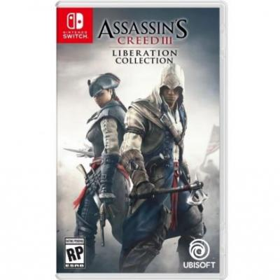 A listing for an Assassin's Creed 3 remaster has been spotted for Nintendo Switch