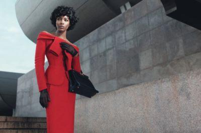 First Lady of FashionPhoto by Willy Vanderpierre, styled by