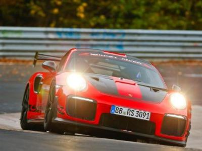 A Tweaked 911 GT2 RS Just Belted Out A 6min 40sec 'Ring Lap