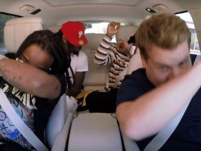 Watch Migos Submit To The Indignity Of Carpool Karaoke With James Corden