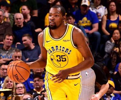 Kevin Durant propels Warriors in aftermath of friend's shooting death