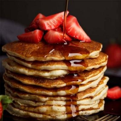Easy Fluffy Vegan Pancakes