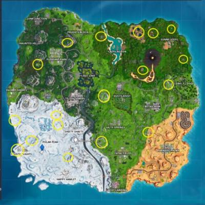 Fortnite: where to find The Baller