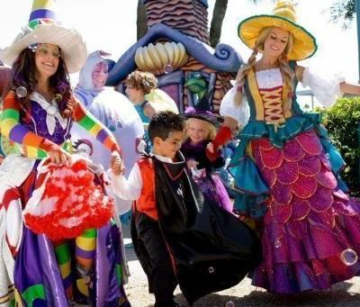 Halloween Family Fun and Spooky Thrills in Orlando