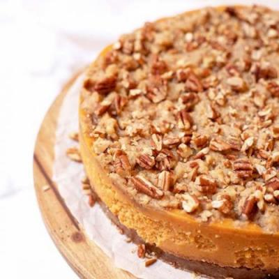 Sweet Potato Casserole Cheesecake