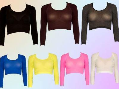 Spanx arm tights exist and we don't quite understand why