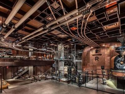 Starbucks opens next Reserve Roastery in New York