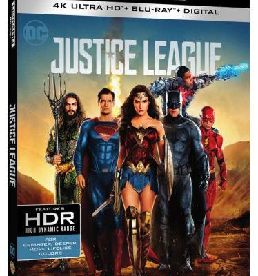 'Justice League' 4K, Blu-ray, 3D and DVD Release Date in March, Digital Next Month