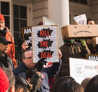 'Do you realize how out of touch that seems?': NYC lawmakers rail against Amazon for HQ2 helipad demand in heated hearing