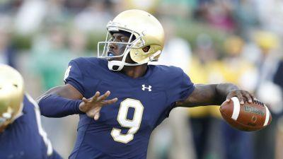 Notre Dame QB Malik Zaire expected to transfer, reports say