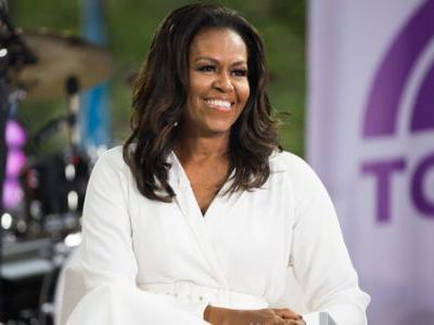 Michelle Obama Tells The Story Of 'Becoming' Herself - And The Struggle To Hang On