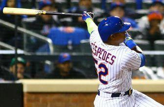 Mets fans receive early gift as Yoenis Cespedes returns