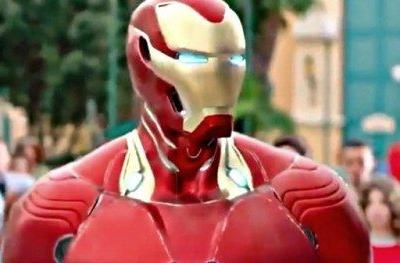 Iron Man's Infinity War Armor Unveiled in Disneyland