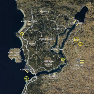 Black Ops 4: Blackout Zombie locations and loot guide