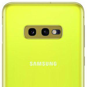 The Galaxy S10e's new color leaks in high-quality images. You'll need your sun goggles for this one