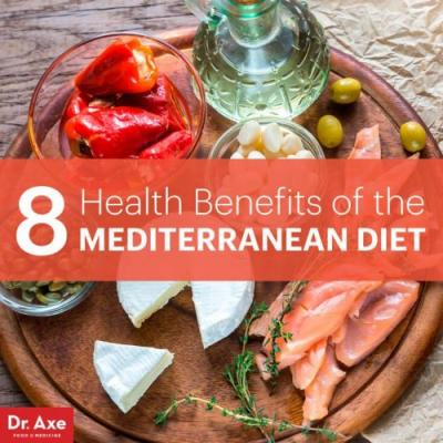 8 Major Benefits of the Mediterranean Diet