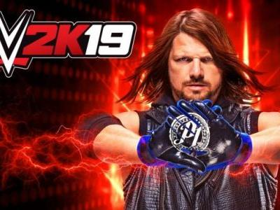 AJ Styles Is The Cover Athlete for WWE 2K19
