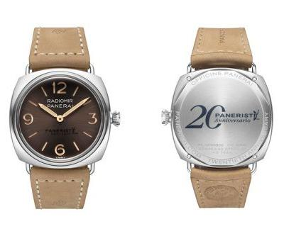 Panerai Celebrates the 20th Anniversary of Its Paneristi With a Special Edition Radiomir