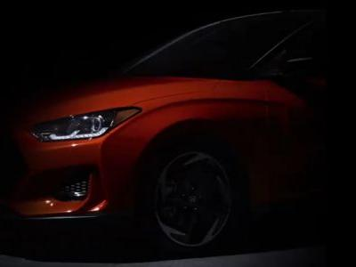 Hyundai Thinks You Haven't Seen The 2019 Veloster, So It's Still Teasing It