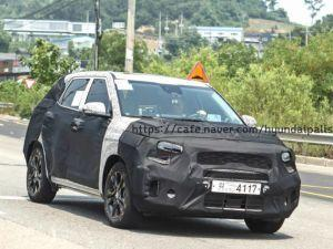 Kia SP Spied For The First Time