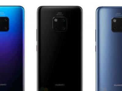 Mate 20 leaked poster confirms a whopping 40W fast charging