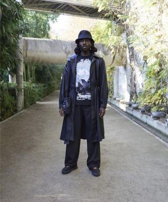 Dev Hynes models Virgil Abloh's new Louis Vuitton capsule