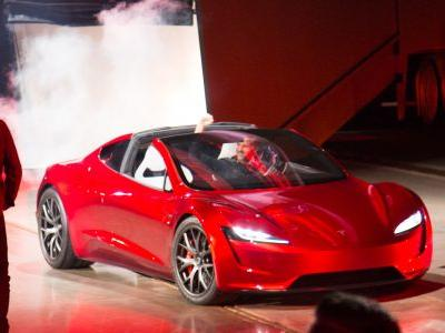 Tesla reveals a new Roadster, due in 2020