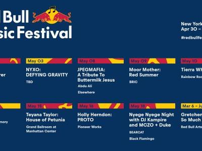 Red Bull Music Festival NYC Announces FKA twigs, Tierra Whack, Teyana Taylor, & More