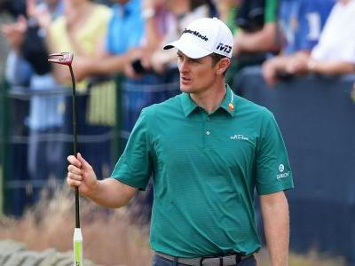 British Open 2018: Justin Rose shoots record-tying 64, says Sunday will be 'interesting'