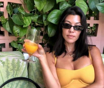 Looking Good, Mama! Fans Are Praising Kourtney Kardashian's Natural Booty In Her Latest Insta Pic